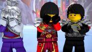 Cole armure de l'armée de pierre-Le ninja de titane