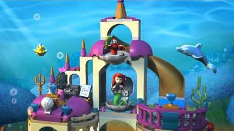 LEGO Disney Princess - Ariel's Underwater Palace 40163