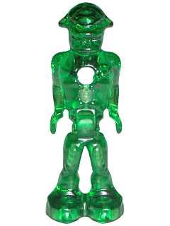 Transparent Green New Lego Mars Mission Alien Space Lot of 2