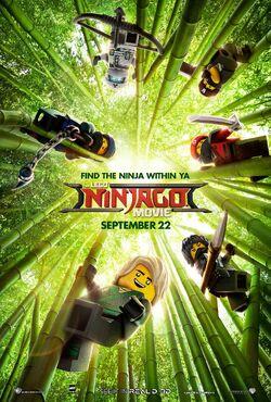 The LEGO Ninjago Movie Poster 2