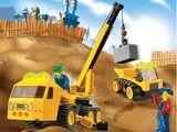 4668 Outrigger Construction Crane