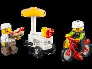 60134 Le parc de loisirs - Ensemble de figurines City 4