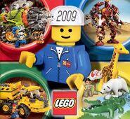 Katalog výrobků LEGO® za rok 2009 (první pololetí) - Strana 01