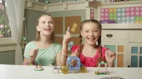 LEGO Building with Friends - Promo - Cinderella's Dream Carriage
