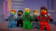 Ninjas armures de l'armée de pierre-Le ninja de titane