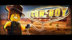 The LEGO Movie 2 BA 2-Rex cow-boy