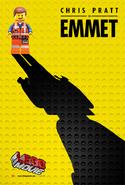 The LEGO Movie Poster Emmet 2