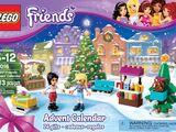 41016 Le calendrier de l'Avent Friends