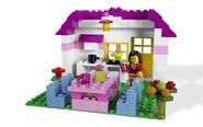 5560 Grande boîte rose de briques 5