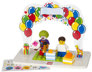 Clownbirthdayset