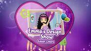 Emma's Design Show Easter Letters