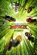 The LEGO Ninjago Movie Poster 2