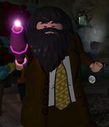 Hagrid, Rubeus (gelb gepunktete Krawatte)