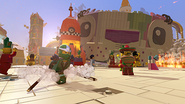 La Grande Aventure LEGO Le jeu vidéo Ninja Vert