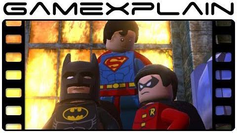 Lego Batman 2 DC Super Heroes Trailer (360, PS3, Wii, PC, 3DS, Vita)