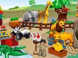 5634 Le repas des animaux du zoo