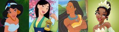 Ethnic princesses