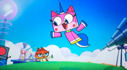 Unikitty and dr. fox
