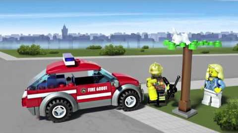 LEGO City - Fire Chief Car 60001