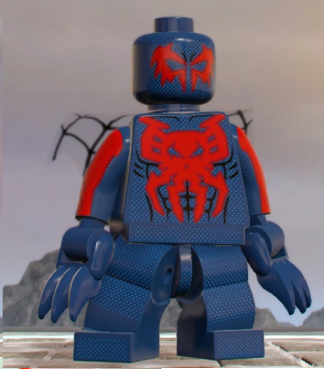 lego spiderman 2099 - photo #11