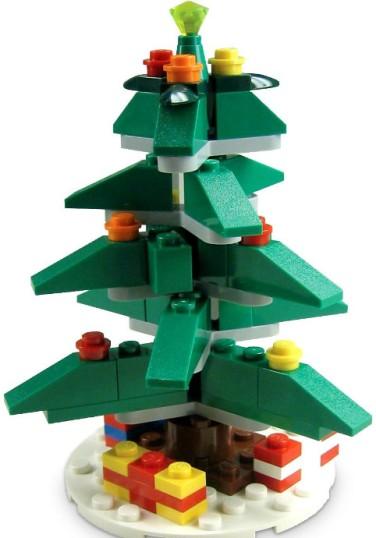 weihnachtsbaum 40024 lego wiki fandom powered by wikia. Black Bedroom Furniture Sets. Home Design Ideas