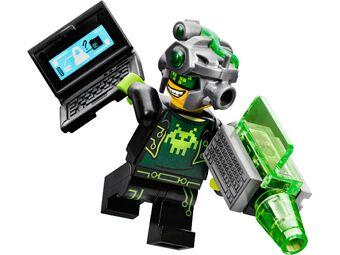 NEW LEGO set 70173 Ocean HQ Electrolyzer blue Torso Ultra Agents