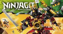 Ninjago Lego slider