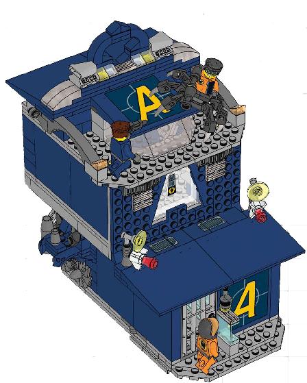 Agents Hq Lego Agents Wiki Fandom Powered By Wikia