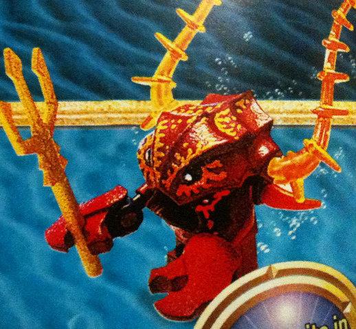 Lobster Warrior | Lego Atlantis Wiki | FANDOM powered by Wikia
