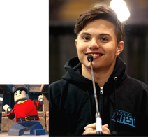 Billy Batson voiced by Zach Callison