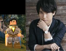 Eugene Choi voiced by Kenichi Suzumura