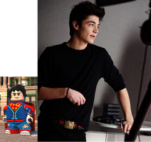 Superboy voiced by Asher Angel