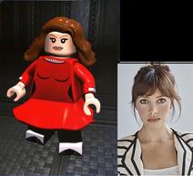 Veruca Salt voiced by Emily O'Brien