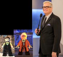 Commissioner Gordon voiced by Drew Carey