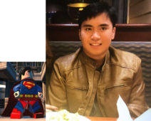 Superman voiced by Ronzel Adlao