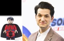 Mon-El voiced by Ben Schwartz