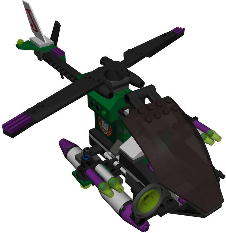 The Joker's Helicopter   LEGO Batman Wiki   FANDOM powered ...