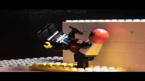 Lego Space Police Mission 1 Action Scene Test