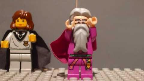 Lego harry potter puppet pals