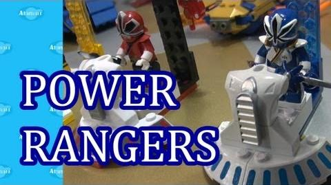 Power Rangers Super Samurai MEGA Bloks Nuremberg Toy Fair Preview