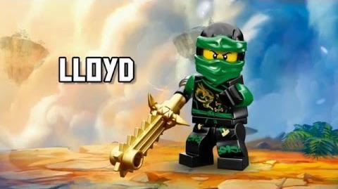 Lloyd - LEGO Ninjago - Character Spot