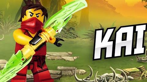 Kai - LEGO Ninjago - Character Spot