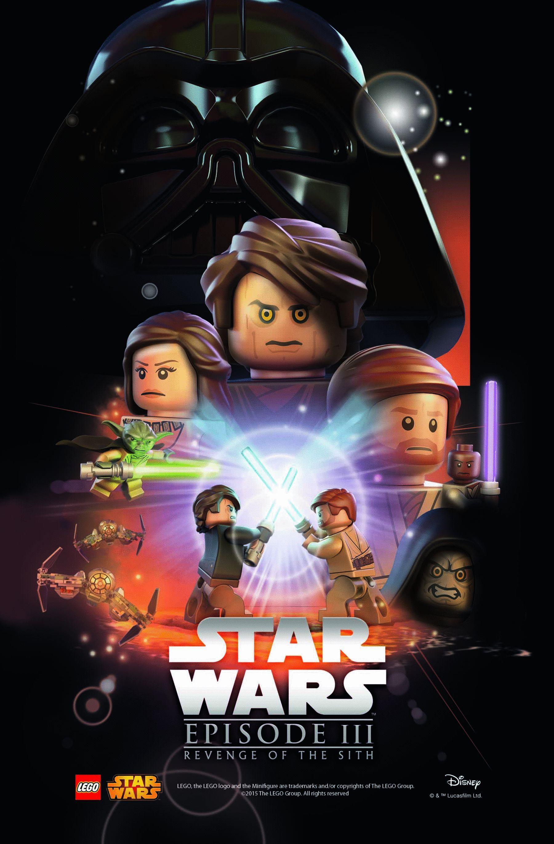 Star Wars Iii Revenge Of The Sith The Lego Crossover Wiki Fandom