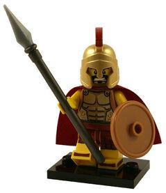 Lego spartan warrior