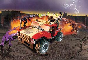Fire Hammer Vs. Mutant Lizards