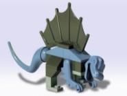 Young Dimetrodon 2