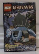 Young Dimetrodon