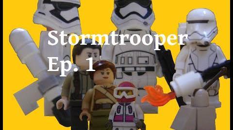 Stormtrooper Brickfilm - E1S1 - Le crash