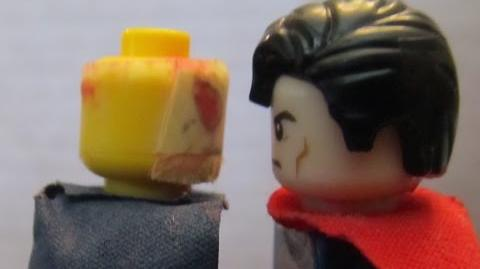 LEGO Superman VS Etrigan (Action Comics 587)