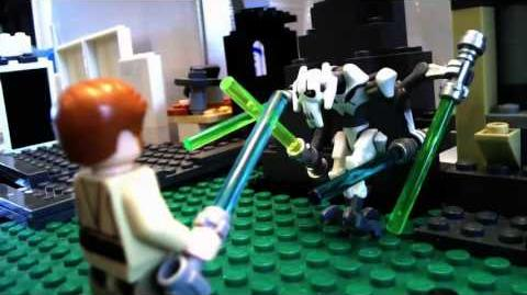 LEGO Star Wars Obi-Wan Kenobi VS General Grievous